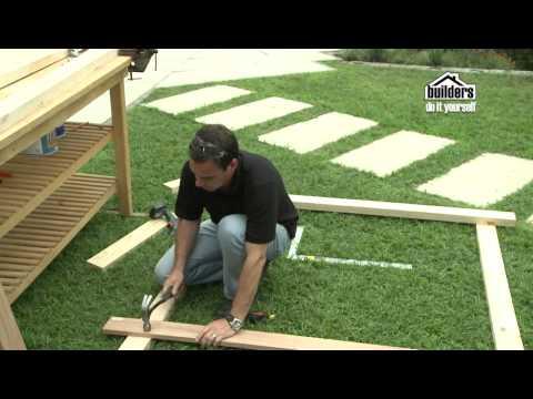 Builders DIY: Designing your Garden - Building a Arch