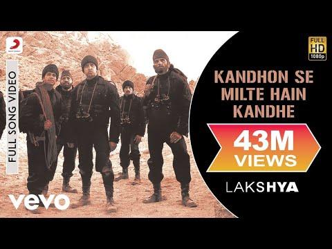 Kandhon Se Milte Hain Kandhe - Lakshya | Hrithik Roshan