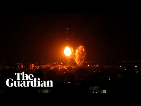 Israel launches second post-ceasefire airstrike on Gaza following incendiary balloons
