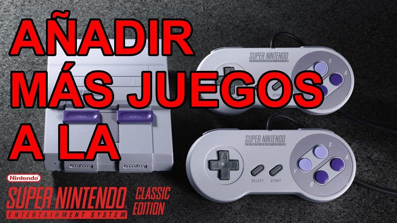 Como Anadir Mas Juegos De Super Nintendo A La Snes Classic Edition