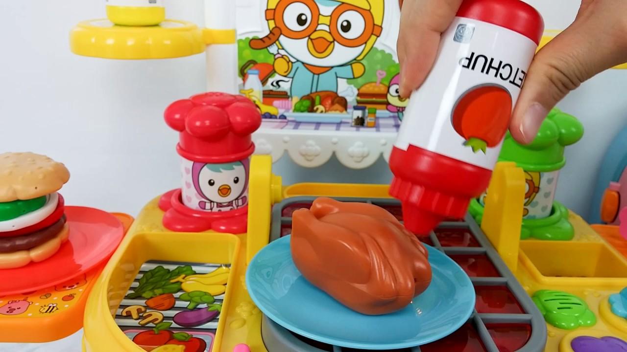 Toy Kitchen Refrigerator Baby Doll cooking Surprise Eggs mainan dapur  kulkas boneka bayi memasak 41f3d9a365