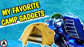 Lightweight Motorcycle Camping Gear, Gadgets and Hacks | MOTO CAMP TOUR