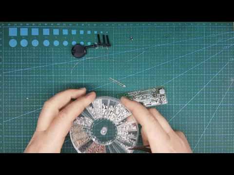 Сборка LED контроллера AQUAPLANNER MINI V1 0
