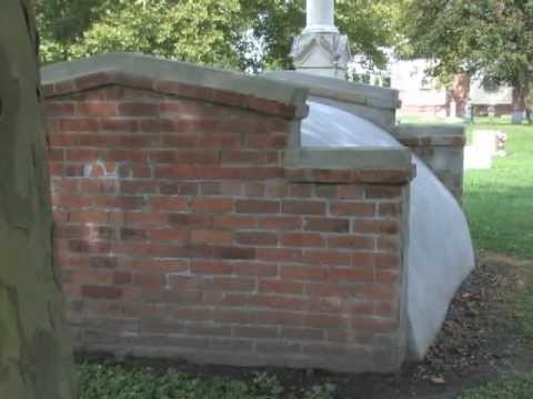 Norfolk historic grave restored at Calvary Cemetery