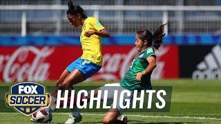 Mexico vs. Brazil   2018 FIFA U-20 Women's World Cup™ Highlights