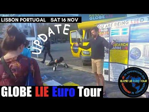 Globe Lie Euro Tour Lisbon Portugal Update