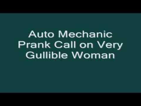 Auto Mechanic Prank Call