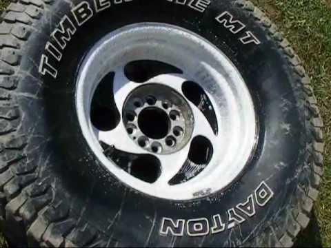 How To Polish Aluminum Wheels >> polishing aluminum wheels - YouTube