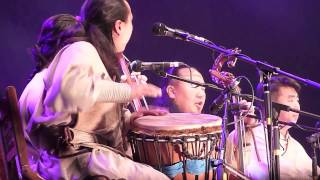 Khusugtun @ Rainforest World Music Festival 2012