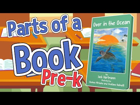 Parts Of A Book | Pre-K Version | Jack Hartmann