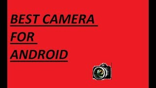 Best camera apps !!