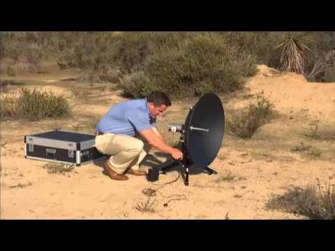 ViaSat Pro Portable Ka band Broadband Terminal Setup