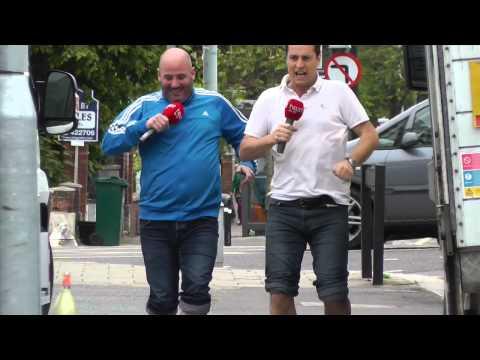 Tom & Jack's High Heel Race