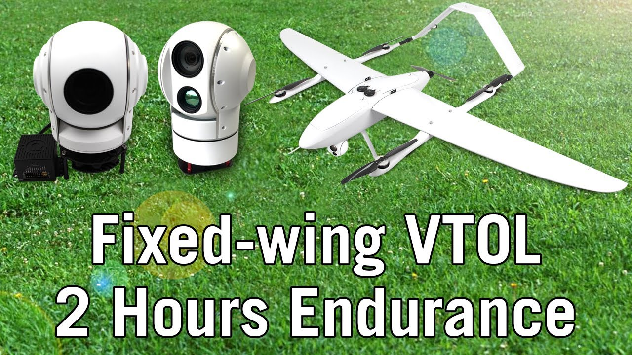 FW-250 Fixed Wing VTOL Plane With 2 Hours Endurance - DIY Drones