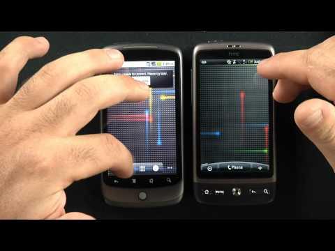 HTC Desire vs HTC Nexus One Comparison
