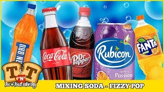 Mixing Soda (Fizzy Pop) To Create New Flavours