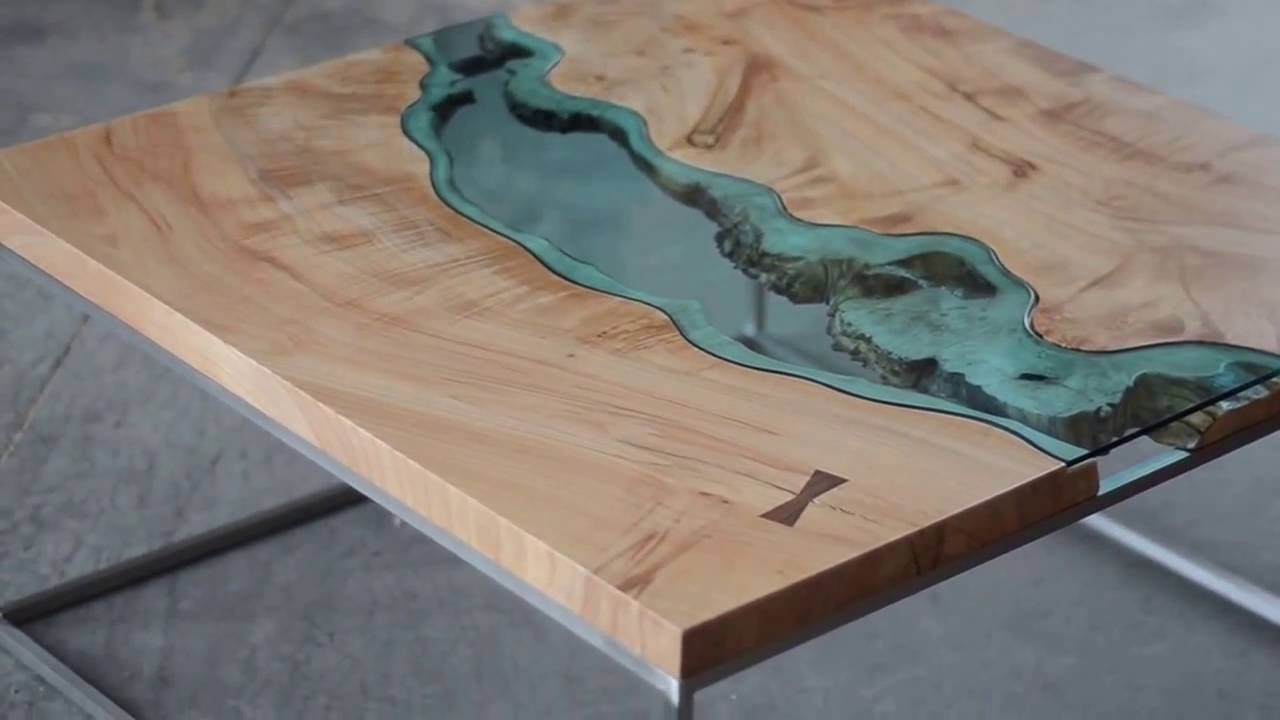 "River Coffee Table - ""From this to that"" - YouTube"