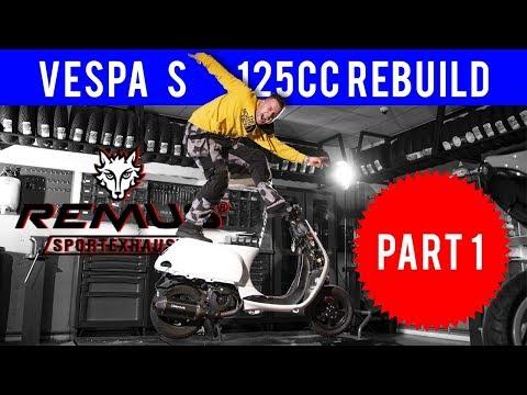 VESPA S 125CC NEW COLOR | PART 1 | VOL GAS MET JOEY