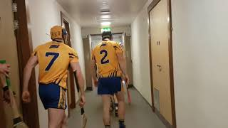 Clare team pre-National Hurling League win over Kilkenny