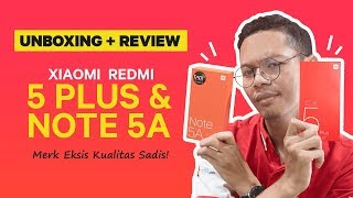 Unboxing + Review Xiaomi Redmi 5 Plus vs Redmi Note 5A Indonesia - JakReview