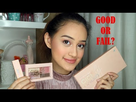 GIGI HADID X MAYBELLINE (and more) FIRST IMPRESSION REVIEW | Indonesia | Nadya Aqilla