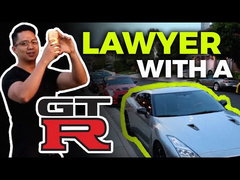 LAWYER That Drives a GTR?? Funny Girl Reactions to 700HP GTR!!