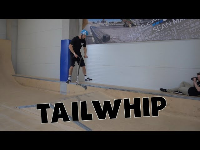 Scooter Tutotrial - TAILWHIP // Freestyle Academy Stuttgart