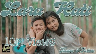 Download lagu LARA HATI - LALUNA | COVER KENTRUNG SENAR 4 BY FARHAN & NAZWA - MABORA TEAM