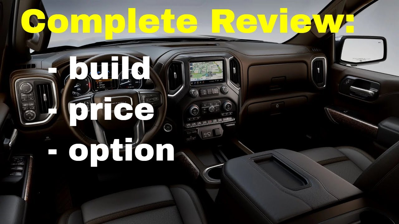 2019 Gmc Acadia Denali Awd Suv Build Price Review Features