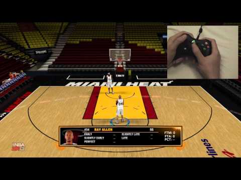 HOW TO SHOOT FREE THROWS IN NBA 2K13 (Perfect Release Tutorial) + 1600 MSP CHALLENGE