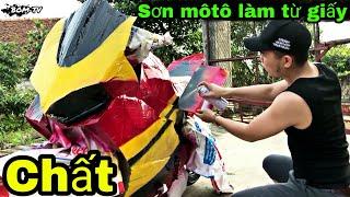Khi Ducati Exciter bằng bìa giấy LÊN MẦU 😲 thử đi tán TRÂM ANH cho chất  Cái kết Bất Ngờ   BOM TV