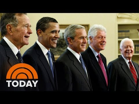 5 Former Presidents Will Headline Hurricane Relief Concert At Texas A&M University | TODAY