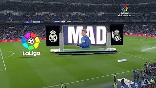 Calentamiento Real Madrid vs Real Sociedad