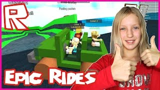 Glitching Into Epic Rides / Roblox Get Eaten