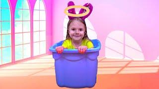 Bogdan a gasit un baby in cutie Istorioara pentru copii