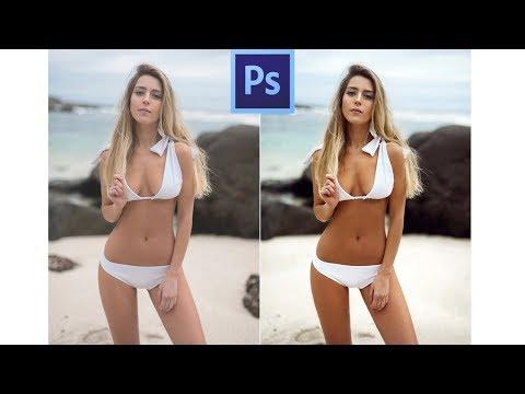 How To Tan Skin In Photoshop CC 2017 [Sub Espanol]