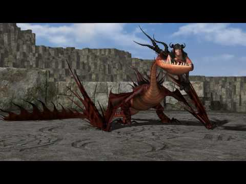 HOW TO TRAIN YOUR DRAGON - Dragon Training Lesson 3: The Monstrous Nightmare