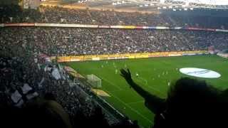 """B.o. - """"die seele brennt"""" live im borussia park, vor dem bundesligaspiel mönchengladbach gegen fc schalke 04 am 03.05.2013, ergebnis 0:1b.o. die see..."""
