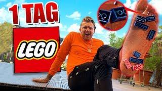 1 TAG mit LEGO im SCHUH !