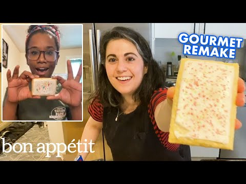 Pastry Chef Remakes Gourmet Pop Tarts at Home | Gourmet Remakes | Bon Appétit