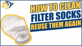 How to Clean Filter Socks So You Can Reuse Them Over and Over Again