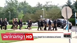 Funeral services held for American student Otto Warmbier