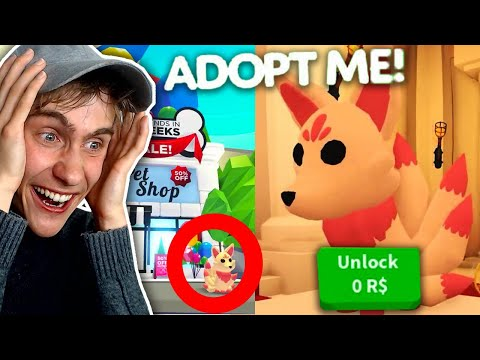 600 ROBUX PET GEKOCHT IN ADOPT ME! (Roblox)