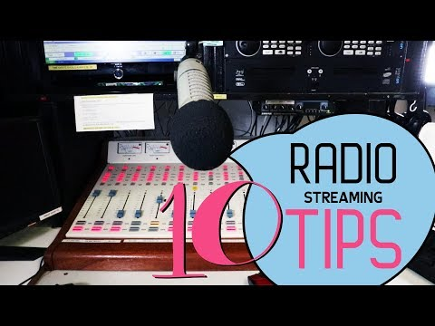 How To Live Stream A Radio Broadcast