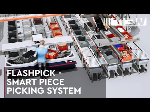 FlashPick® - The Smart Piece Picking System by TGW (english)