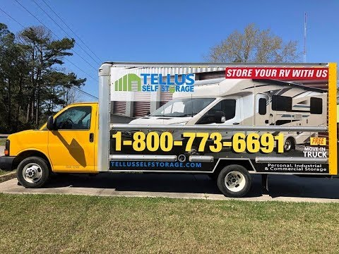 Free Move In Truck at Tellus Self Storage Abita Springs !