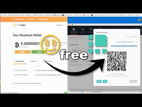 Withdraw From NiceHash To A Hardware Wallet (Ledger Nano S) For Free
