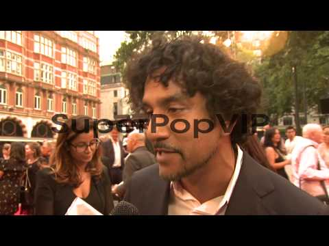 INTERVIEW - Naveen Andrews on doing a film about Diana an...