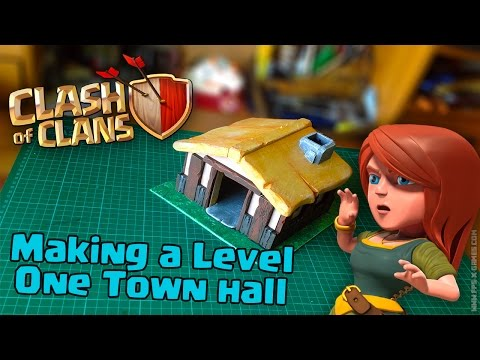Making a Clash of Clans Town Hall LvL 1
