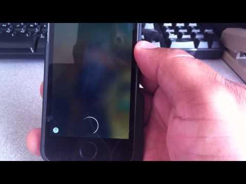 Unlocking your iPhone 5s using Siri